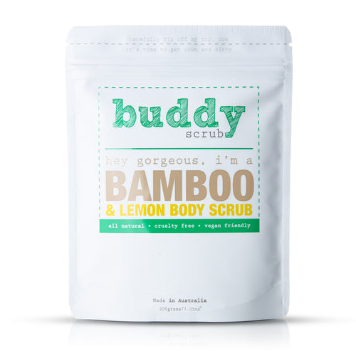 Bamboo & Lemon Body Scrub
