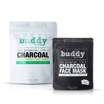 Charcoal Ultimate Self-Care Pack - Face Mask & Body Scrub