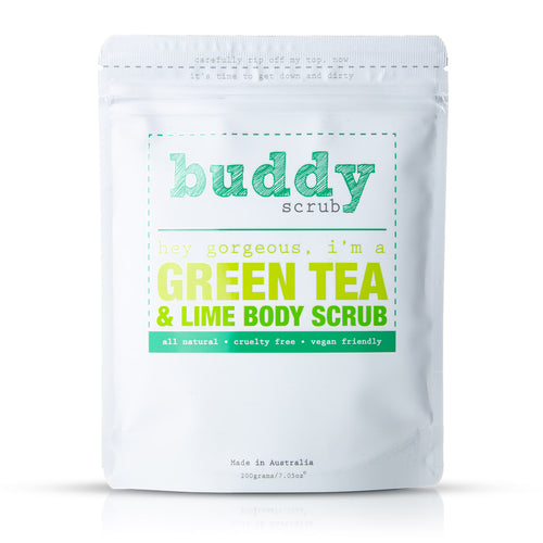 Green Tea & Lime Body Scrub