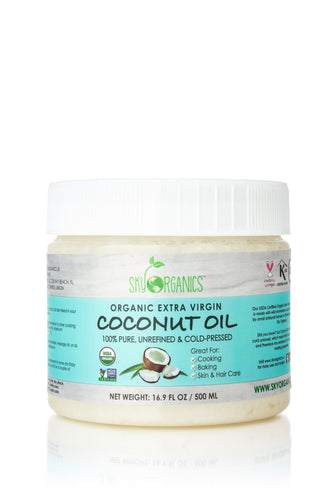 USDA Organic Extra Virgin Coconut Oil