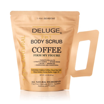 100% Natural Coffee Infused Body Scrub