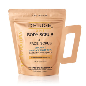 100% Natural Vitamin C Infused Body Scrub