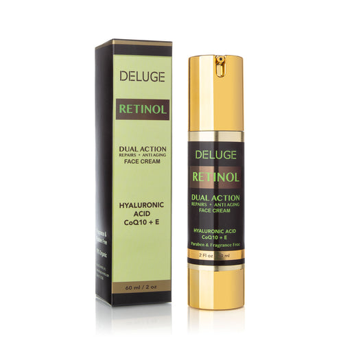 Retinol Cream w/ Hyaluronic Acid & Vitamin E