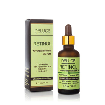 Retinol Serum w/ Hyaluronic Acid & Vitamin C