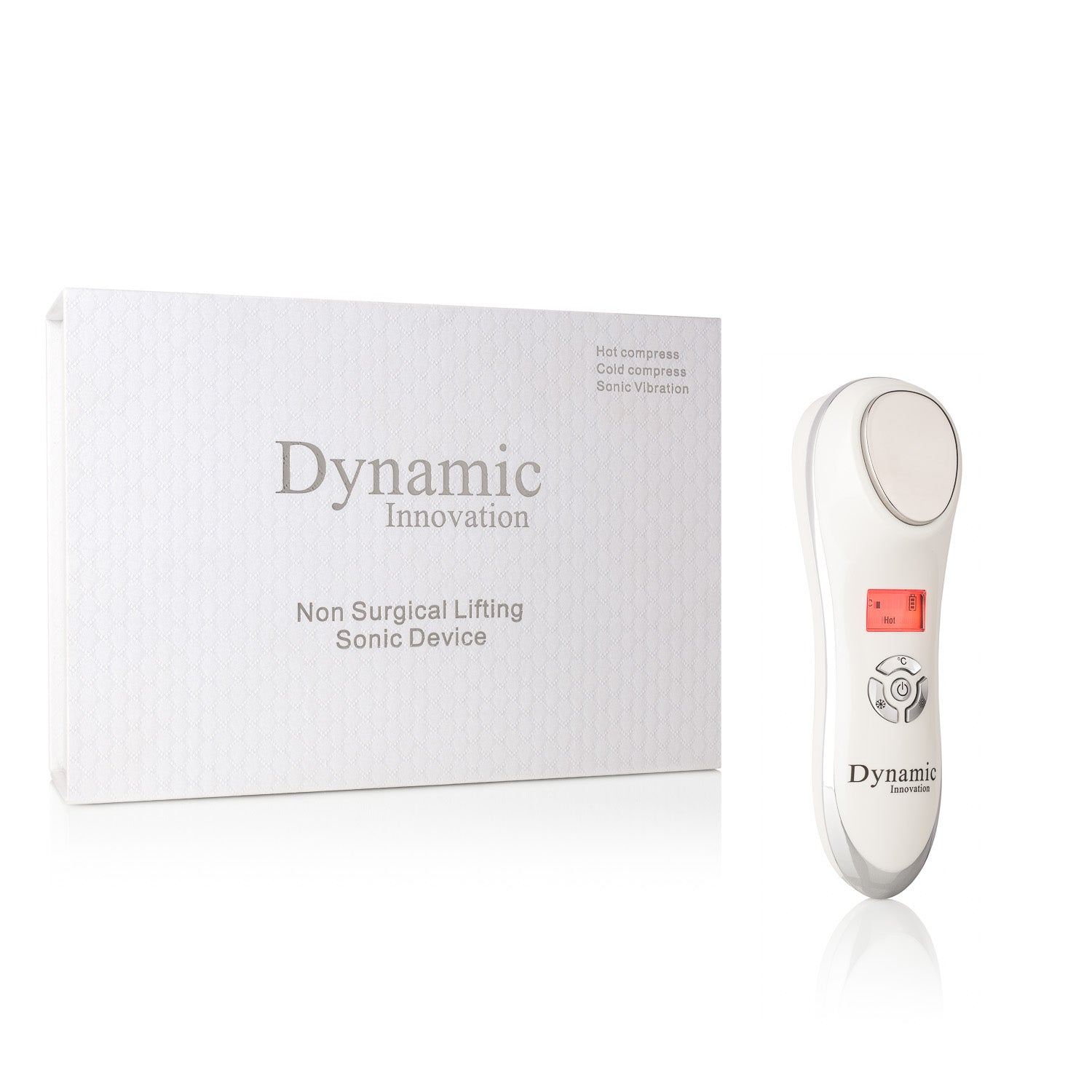 DYNAMIC INNOVATION - Digital Non-Surgical Anti-Aging Sonic Lifting & Pore Shrinking Device