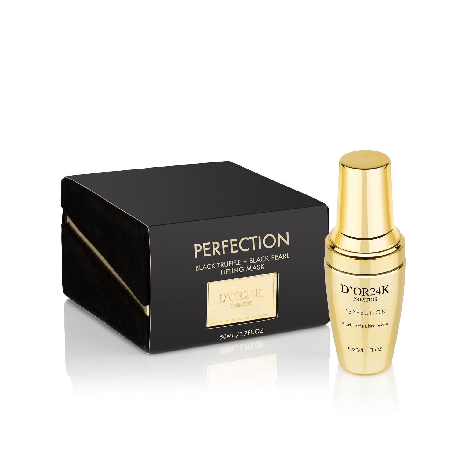D24K by D'OR - Perfection Lifting Serum with Black Truffle & Black Pearl