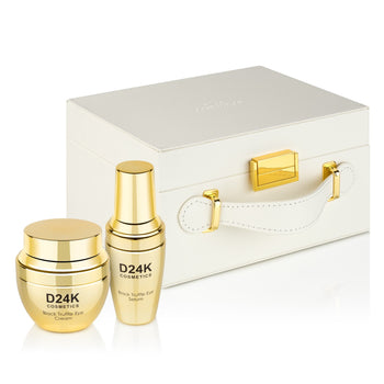 """Golden Eyes"" Black Truffle & Gold Infused Eye Care Gift Set"