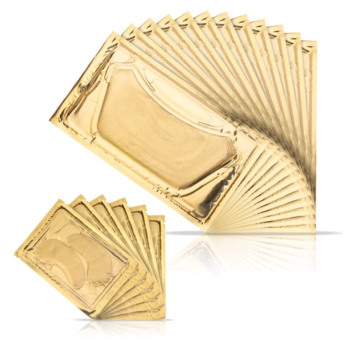 18-in-1 Deep Tissue 24K Gold Regeneration Neck & Eye Mask Set (1 Year Supply)