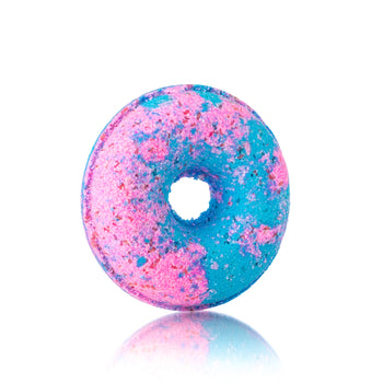 Cotton Candy Doughnut Bath Bomb Fizzer