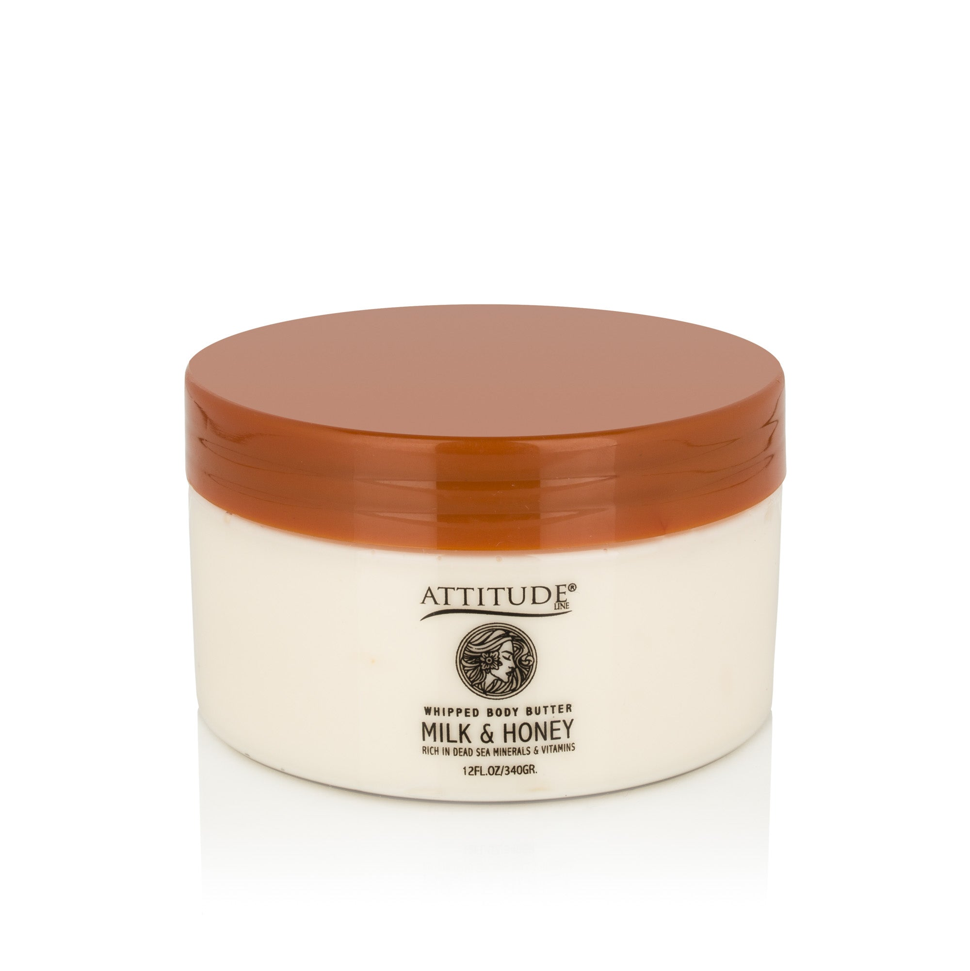 ATTITUDE - Milk & Honey Whipped Rich Body Butter
