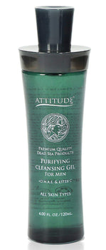 Purifying Gel with Aloe Vera and Salicylic Acid for Problem Skin - For Men