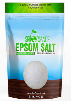 100% Organic Medium-Grain Epsom Salts