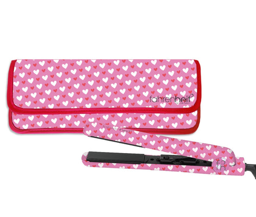 1.25'' Amour Collection Flat Iron With Matching Heat Resistant Pouch