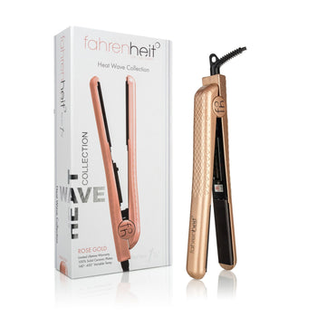 "1.25"" Limited Edition Heat Wave Ceramic Flat Iron - Metallic Rubber"