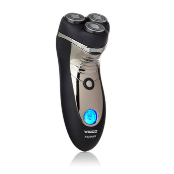 Waterproof Double-Track Electric Shaver w/ Pop-Up Trimmer for Men