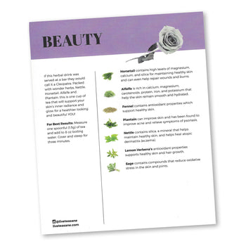 4-Piece Beauty Kit - 28-Day Herbal Beauty Regimen