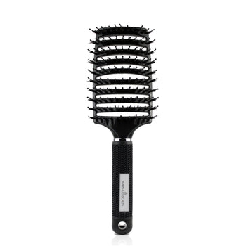 Detangle Brush w/ Nylon & Boar Bristles - Black