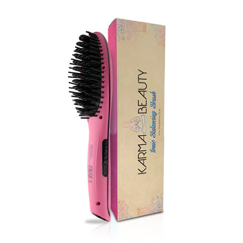 Ionic Hair Straightening Brushes w/ Digital Screen