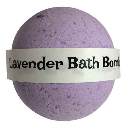 Infused Lavender Essential Oil Bath Bomb 7.5 oz