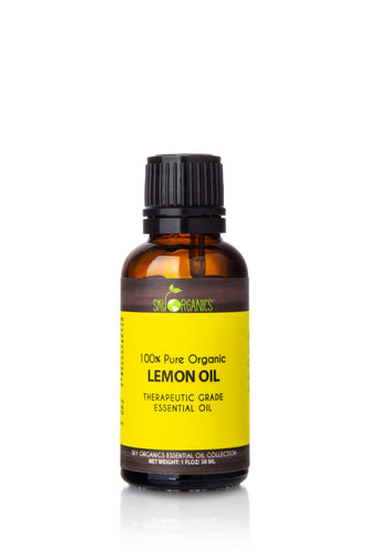 Organic Lemon Essential Oil (1 fl oz)