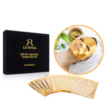24K Gold 12-in-1 Non-Surgical Lift Regeneration Face Mask (1 Year Supply)