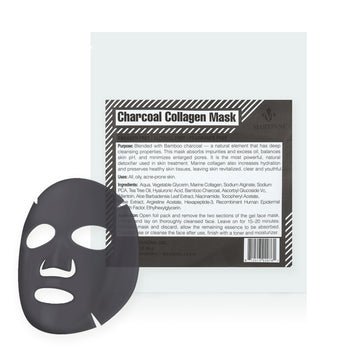 Charcoal Purifying Collagen Facial Mask
