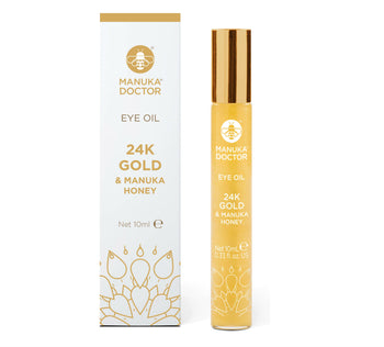 24K Gold & Manuka Honey Eye Oil