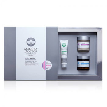 Platinum Introductory Kit - (Facial Mask + Skin Serum + Rub Ease Balm)