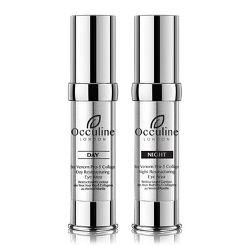 The Bee Venom & Pro-5 Collagen Day and Night Restructuring Eye Treatment Duo