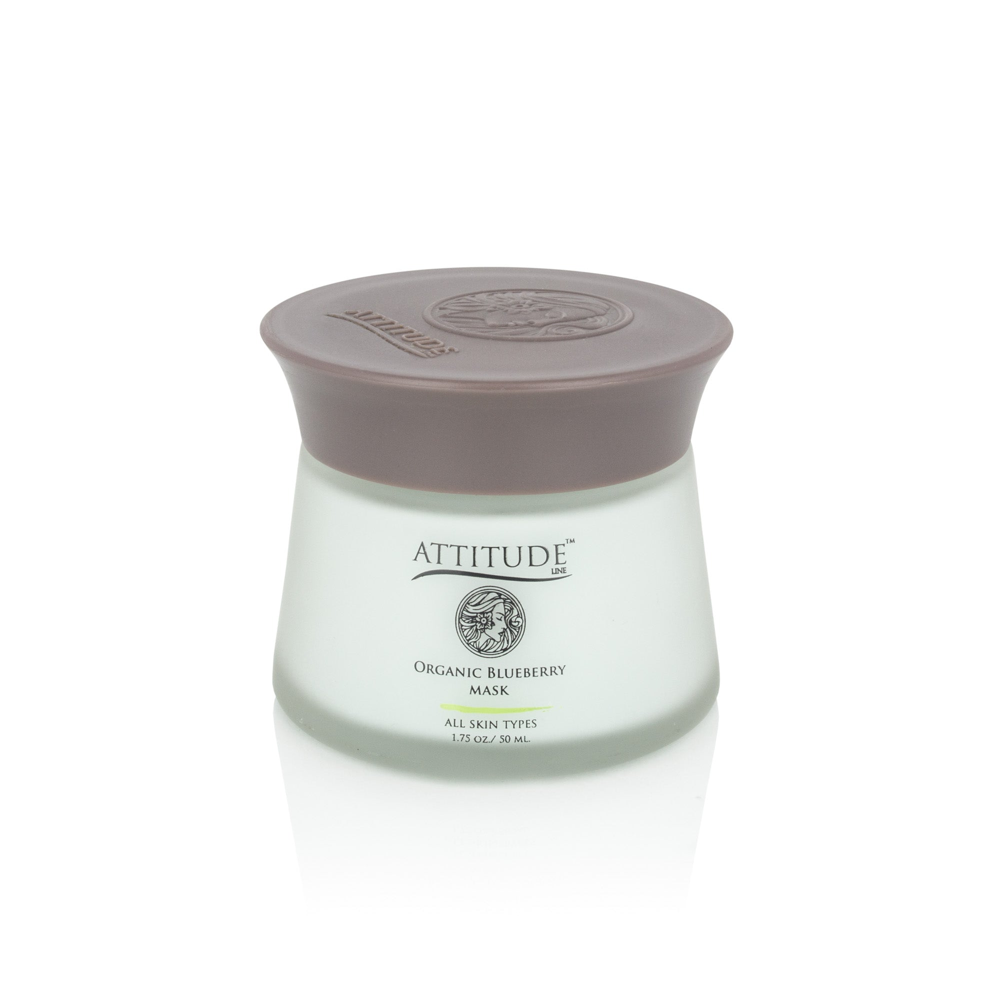 ATTITUDE LINE - Organic Blueberry Wrinkle-Fighting Detox Mask
