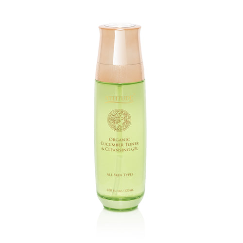 Organic Cucumber Toner & Cleansing Gel