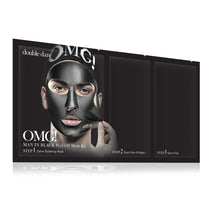 OMG! 'Man In Black' Peel Off Mask Kit