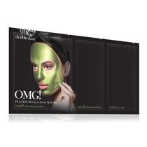 OMG! Platinum Green Facial Mask Kit