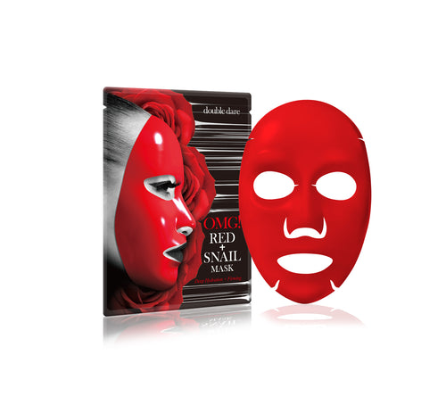 OMG! Hydrating & Firming Red + Snail Mask