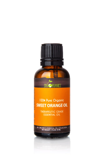 Organic Sweet Orange Essential Oil (1 fl oz)
