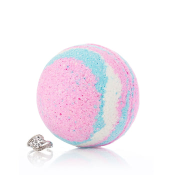 Unicorn Ring Bath Bomb with Luxury Ring Surprise