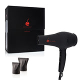 Professional Digital Analog QuickDry Blow Dryer - Black