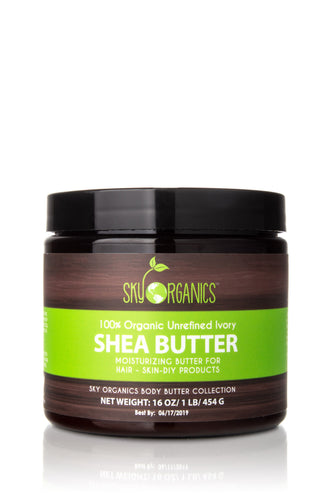 Organic Unrefined Shea Body Butter
