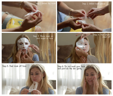 """Ms. Amazing"" Skin Hydrating & Pore Tightening Mask (5-Piece Box Set)"