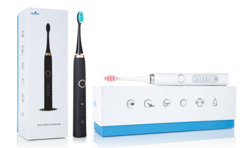 Adult Electric Sonic Toothbrush w/ Replacement Heads