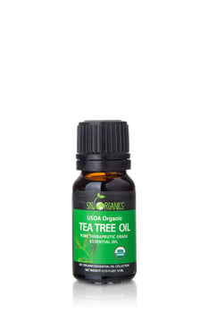 Organic Tea Tree  Essential Oil (0.33 fl oz)