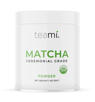 Ceremonial Grade Matcha Powders (Natural, Mango, Blueberry or Chocolate Flavor)