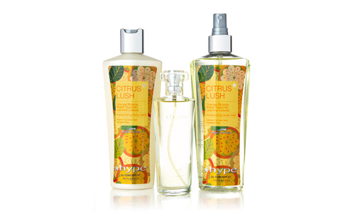 3-Piece Citrus Lush Head-To-Toe Gift Set