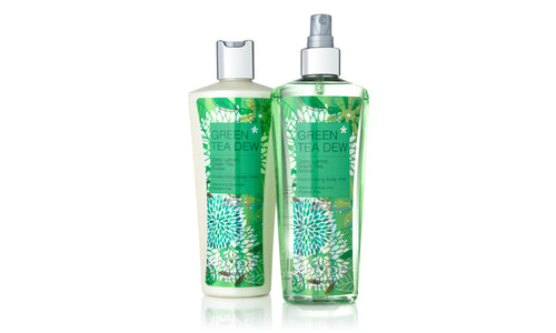 Green Tea Dew Body Mist & Lotion Gift Set