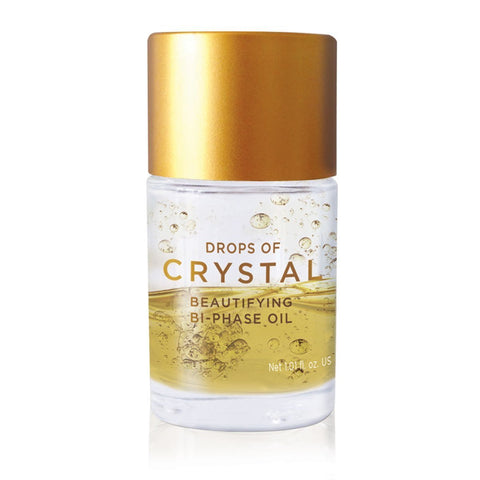 Drops of Crystal Beautifying Bi-Phase Oil