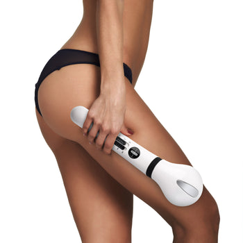 Hot & Cold Therapy Cellulite Reducer with Caffeine Booster Gel