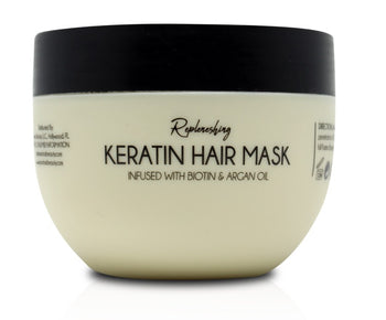 Replenishing Keratin Hair Mask Infused w/ Biotin & Argan Oil
