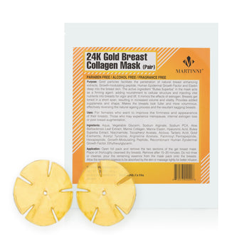 24K Gold Collagen Breast Enhancing Mask