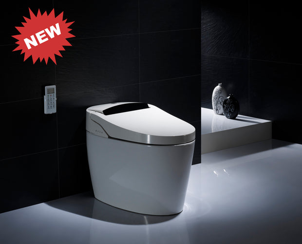 "SMART ONE PIECE ELONGATED TOILET ""PARMA"" AT-5530200-WH"