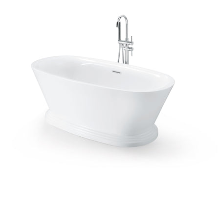 "FREESTANDING TUB ""VALENCIA"" 67"" x 32"" x 24"" AFT-A0981-WH"